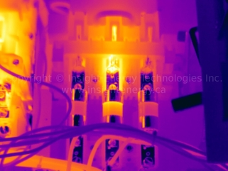 Infrared Thermal Image of Fuses